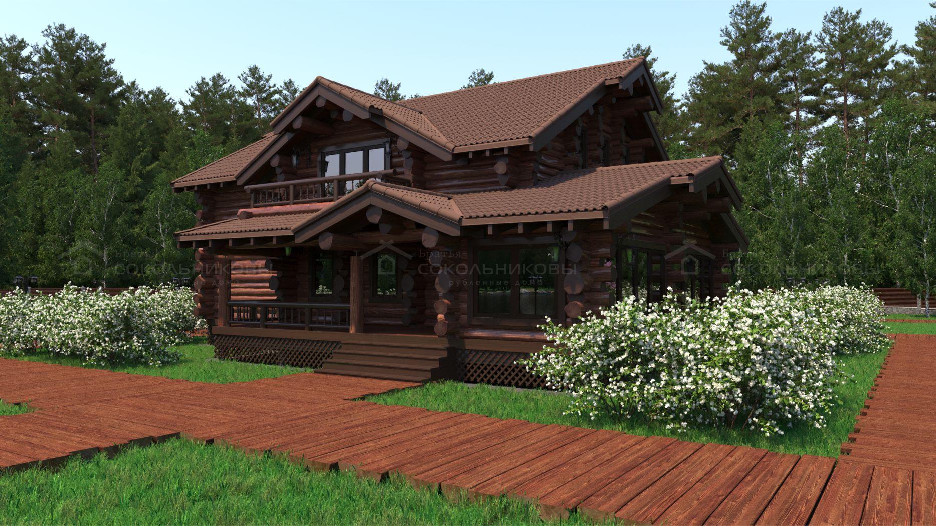 Дом в диком стиле, 320 кв. м, фото 9