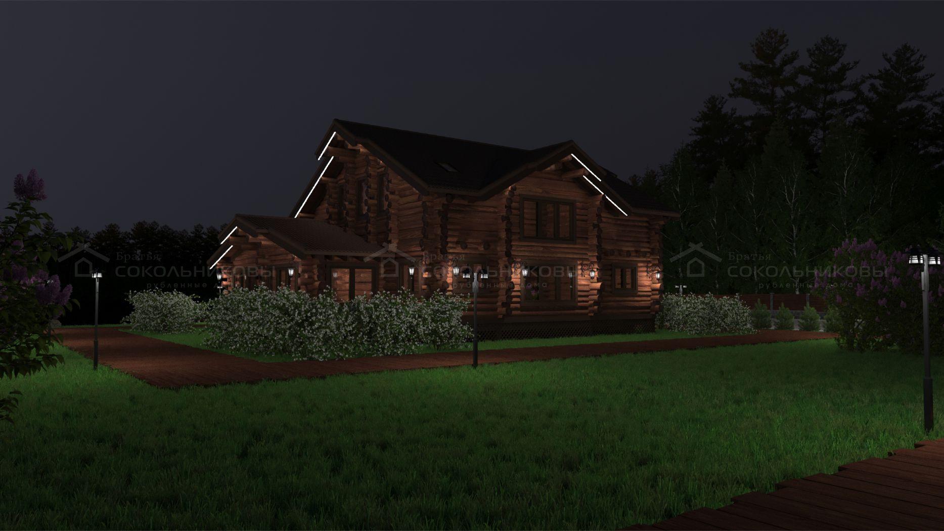 Дом в диком стиле, 320 кв. м, фото 15