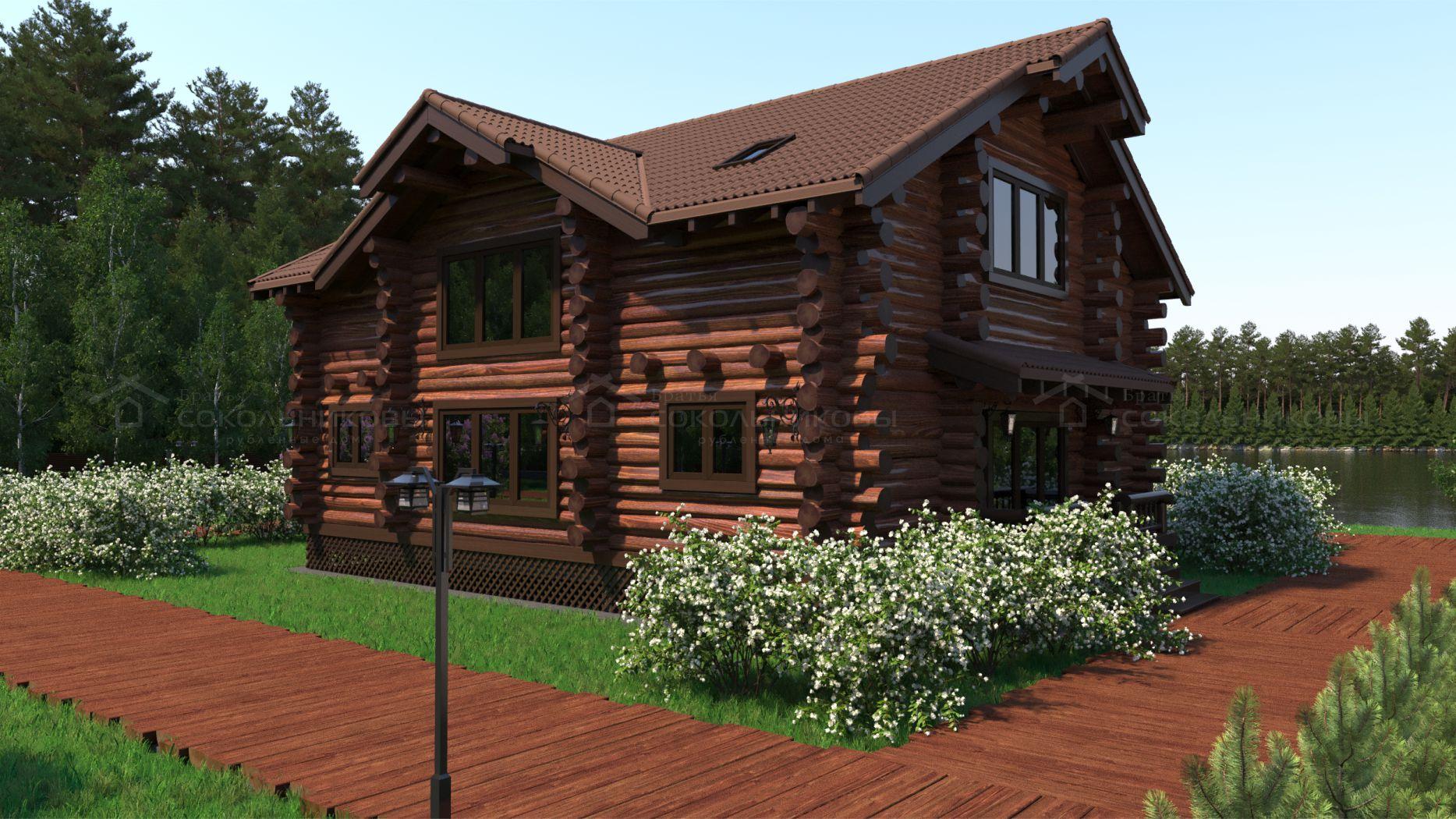 Дом в диком стиле, 320 кв. м, фото 11