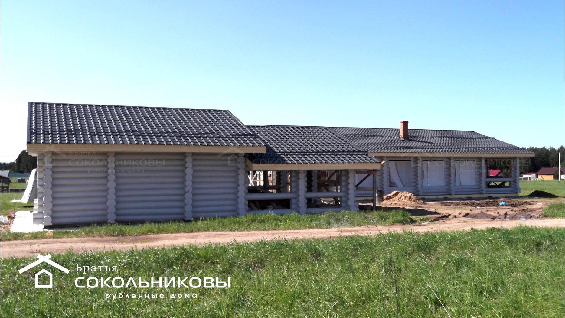 Дом под рубанок, 180 кв. м, фото 1