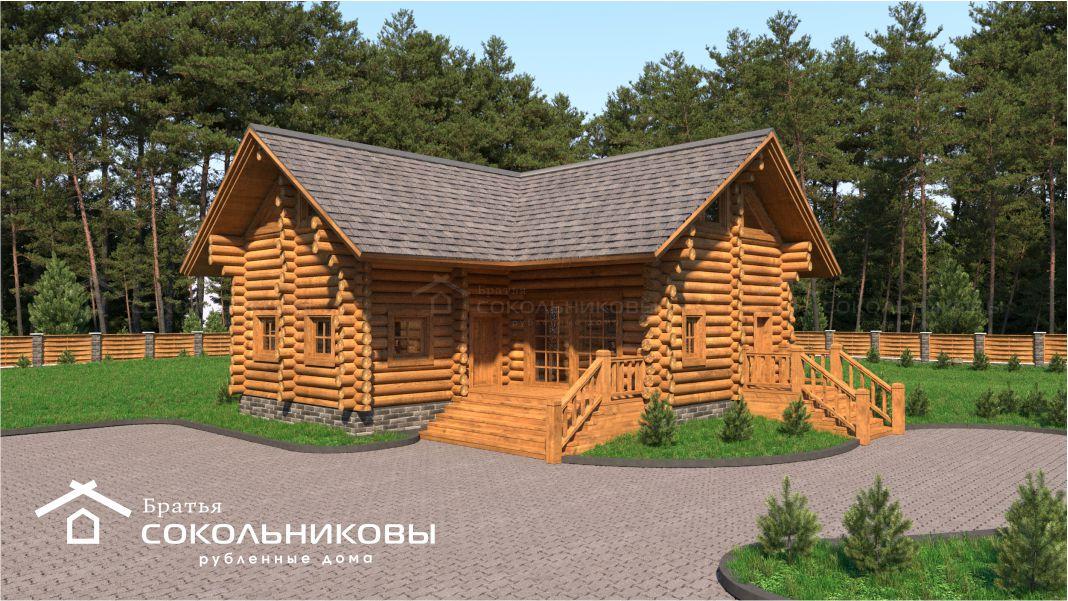 Проект рубленного дома