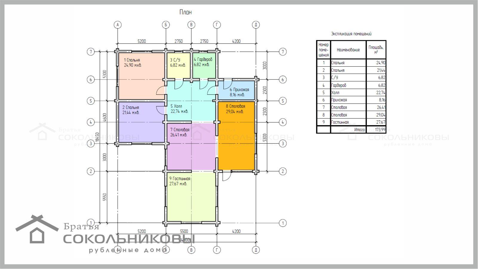 Дом в диком стиле, 174 кв. м, фото 1