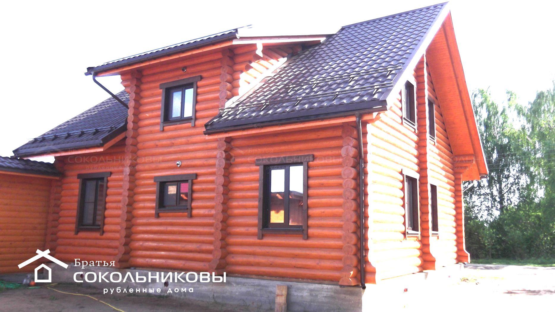 Дом под рубанок, 186 кв. м, фото 3