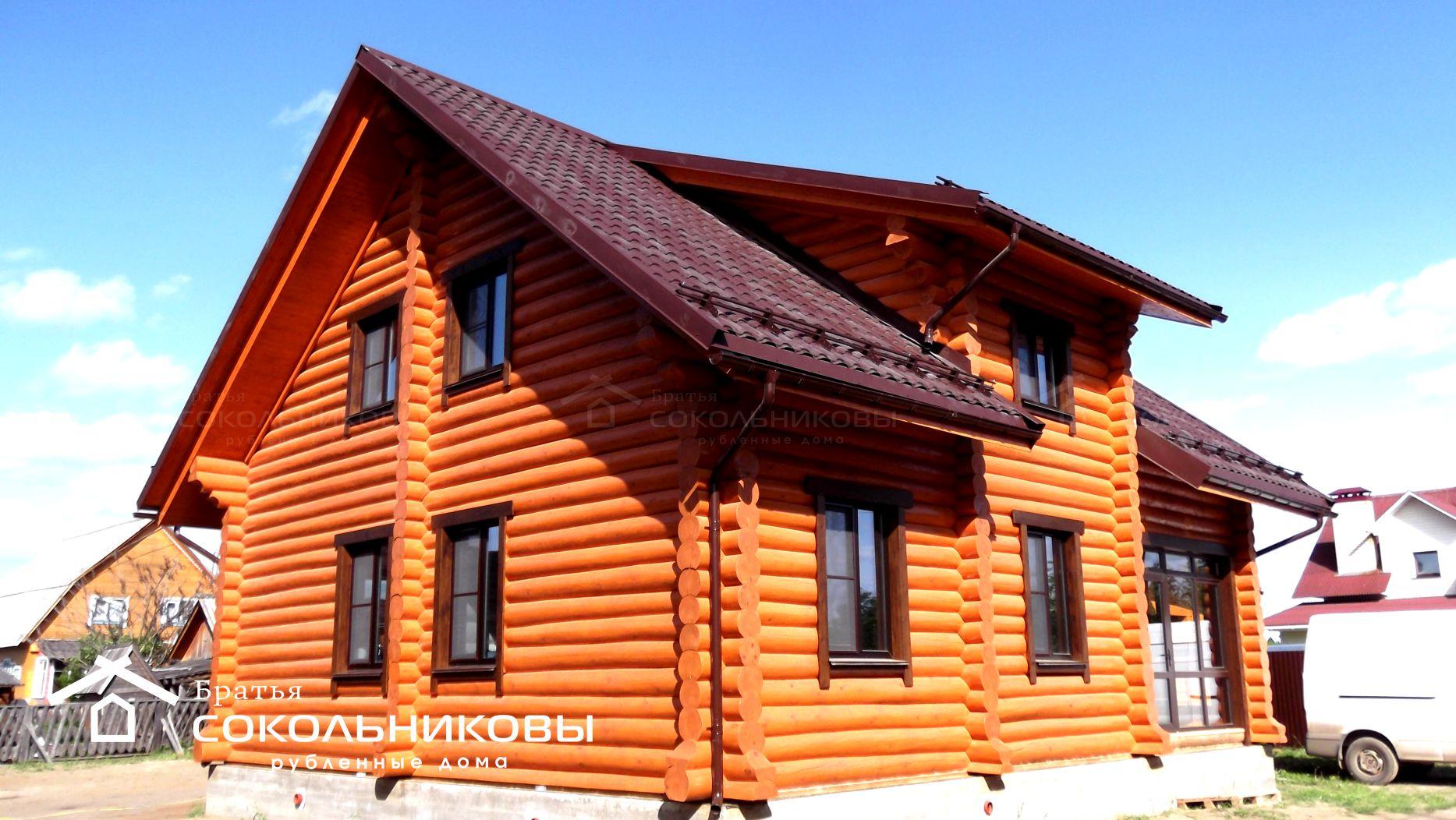 Дом под рубанок, 186 кв. м, фото 1