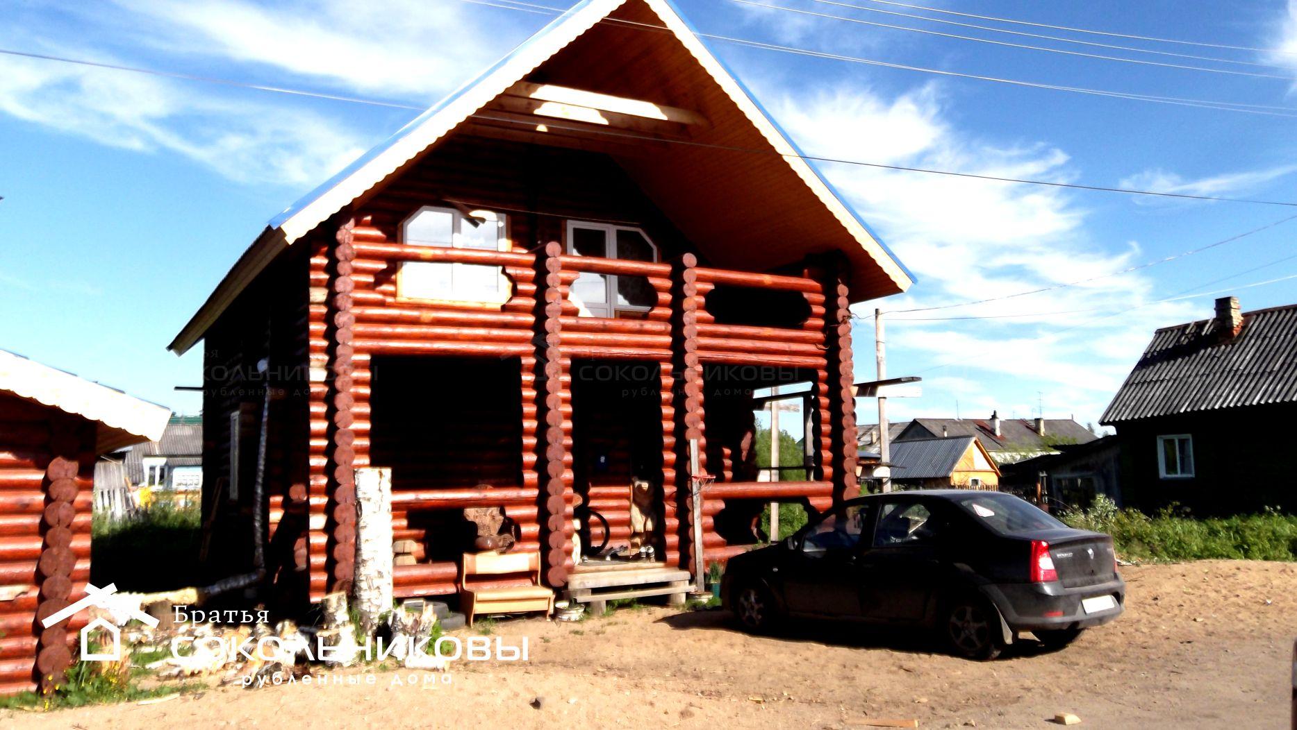 Дом под рубанок, 166 кв. м, фото 1