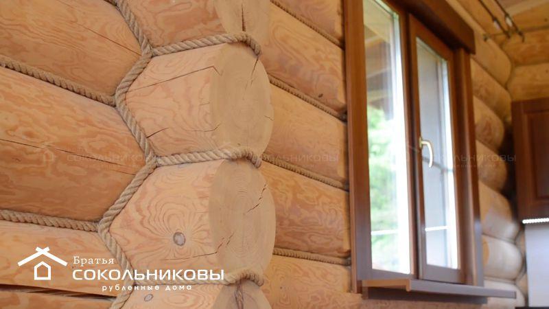 Интерьеры деревянных рубленых домов