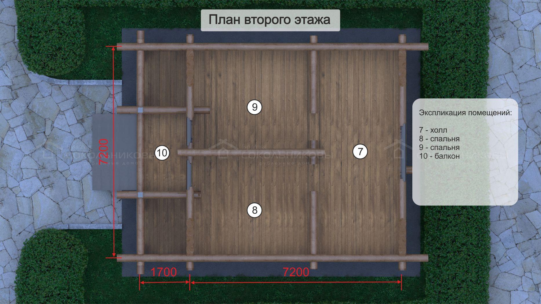 Дом под рубанок, 111 кв. м, фото 8