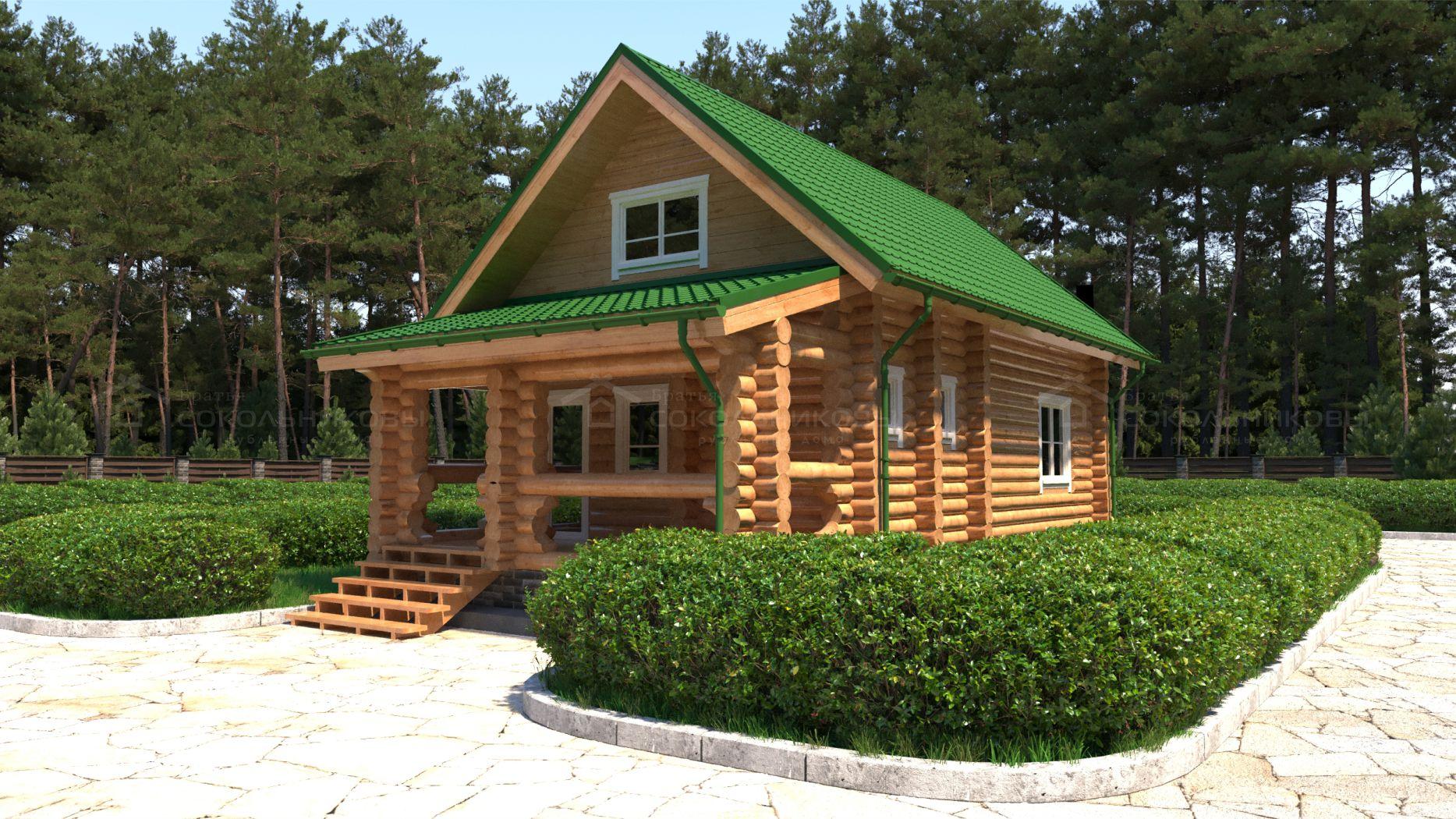 Дом под рубанок, 60 кв. м, фото 1