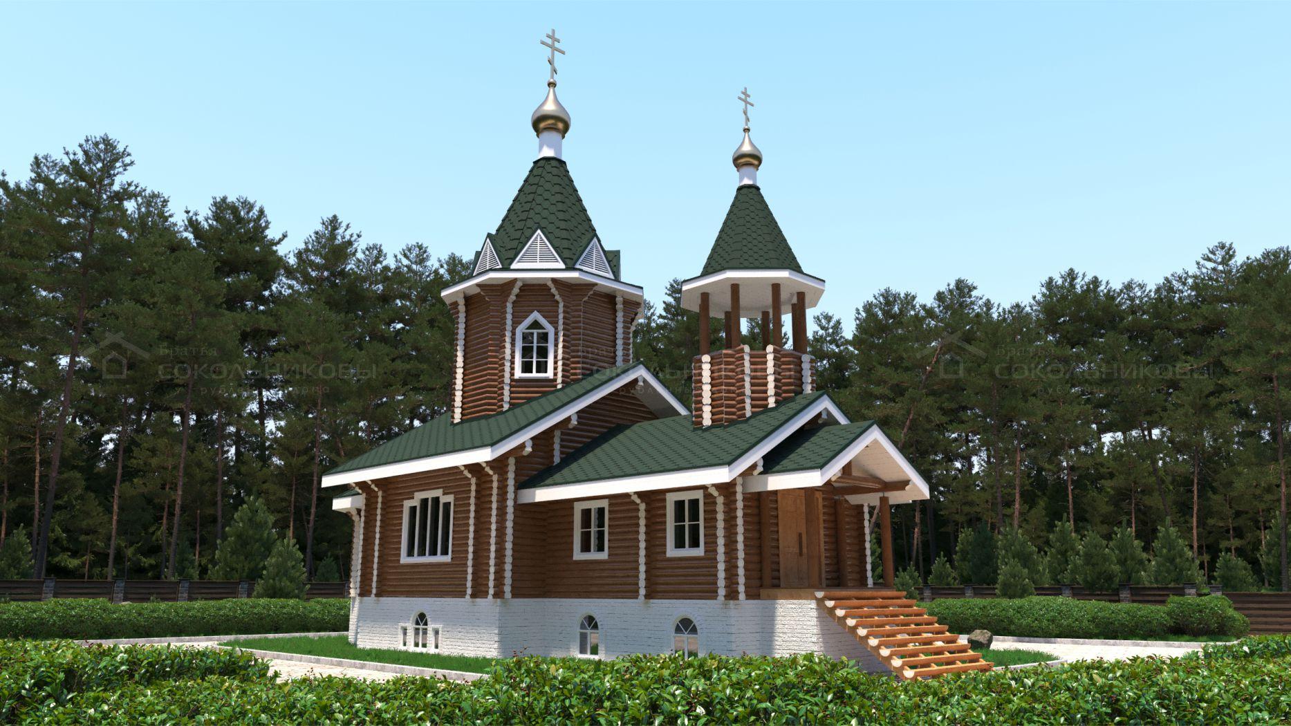 Рубленая церковь, 137 кв. м, фото 4