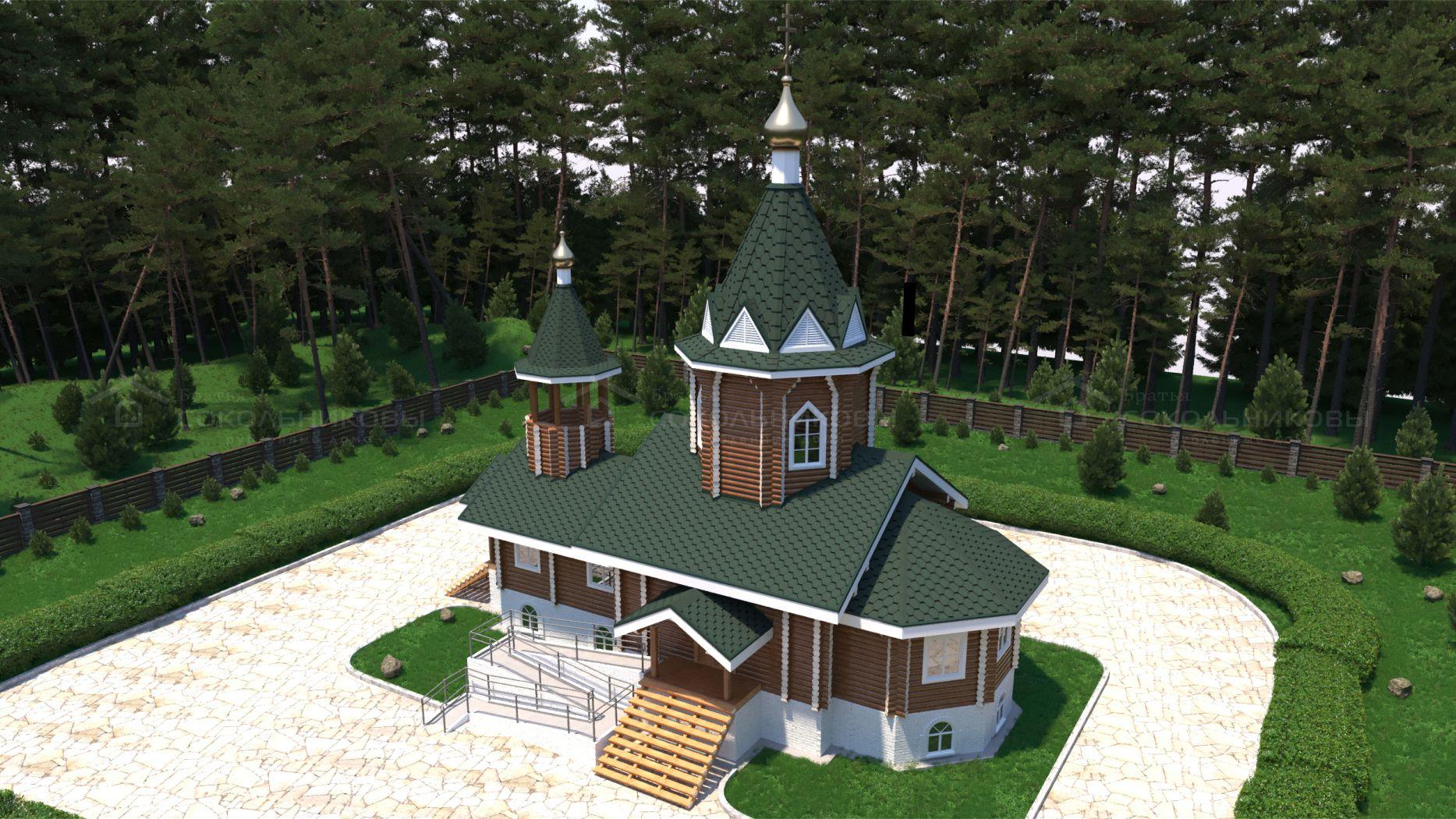 Рубленая церковь, 137 кв. м, фото 5