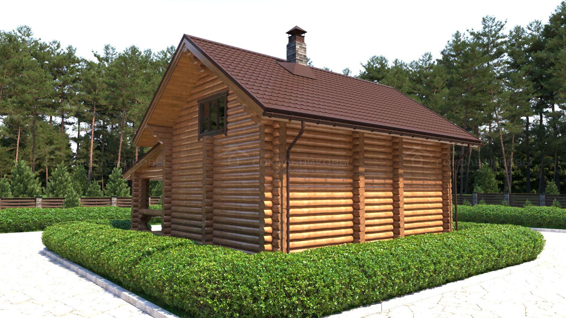 Дом-баня под рубанок, 123 кв. м, фото 6