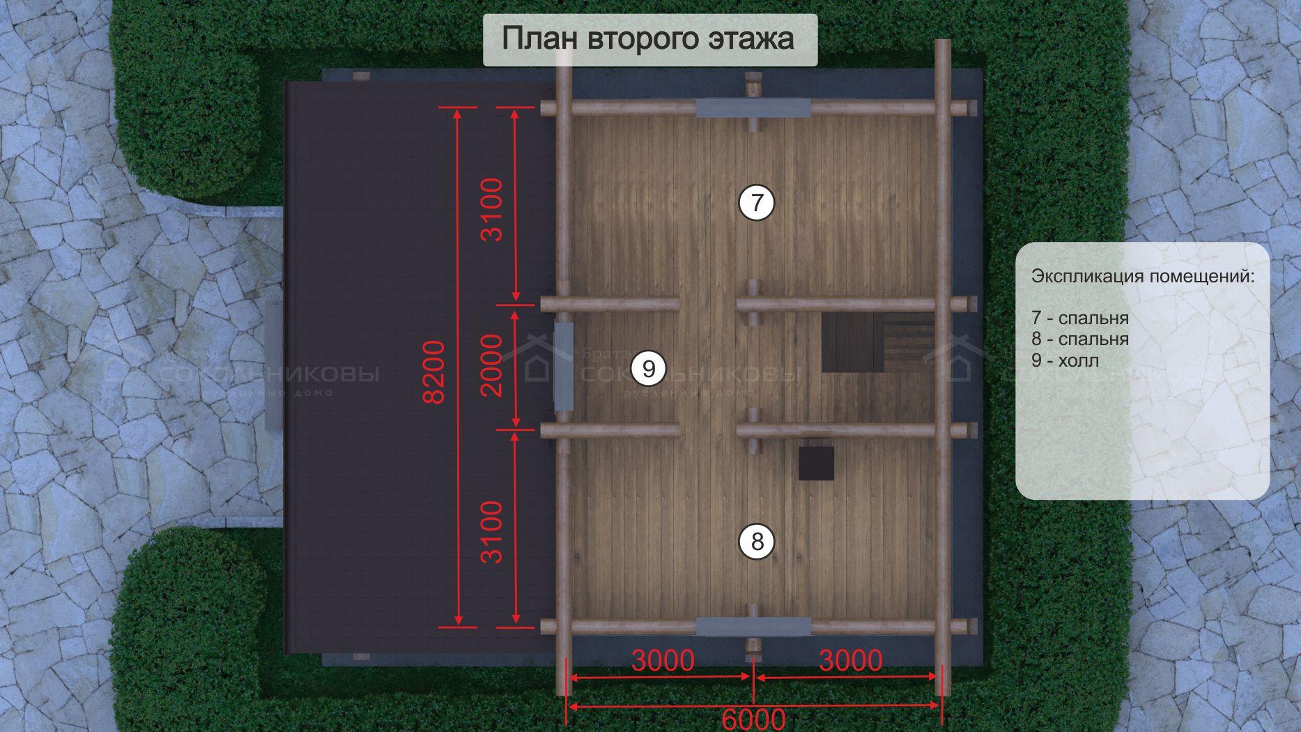 Дом-баня под рубанок, 123 кв. м, фото 9