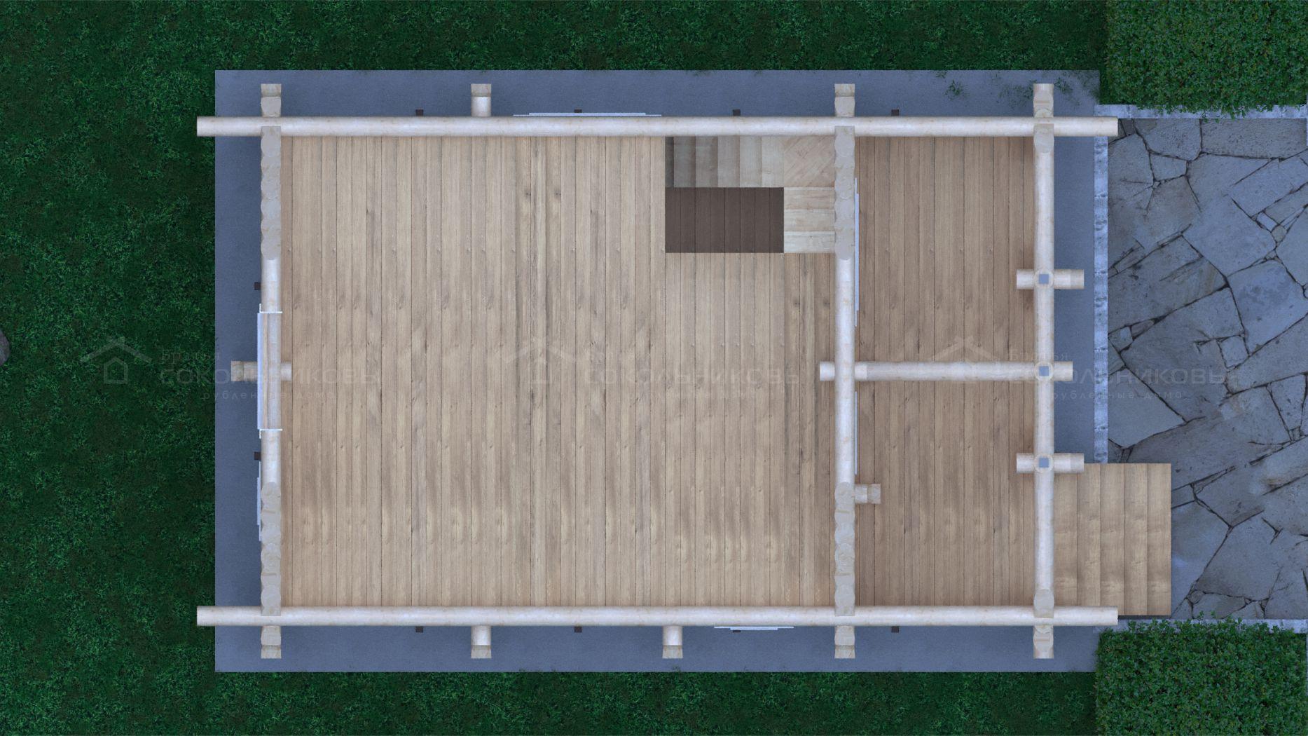 Баня под рубанок, 130 кв. м, фото 10