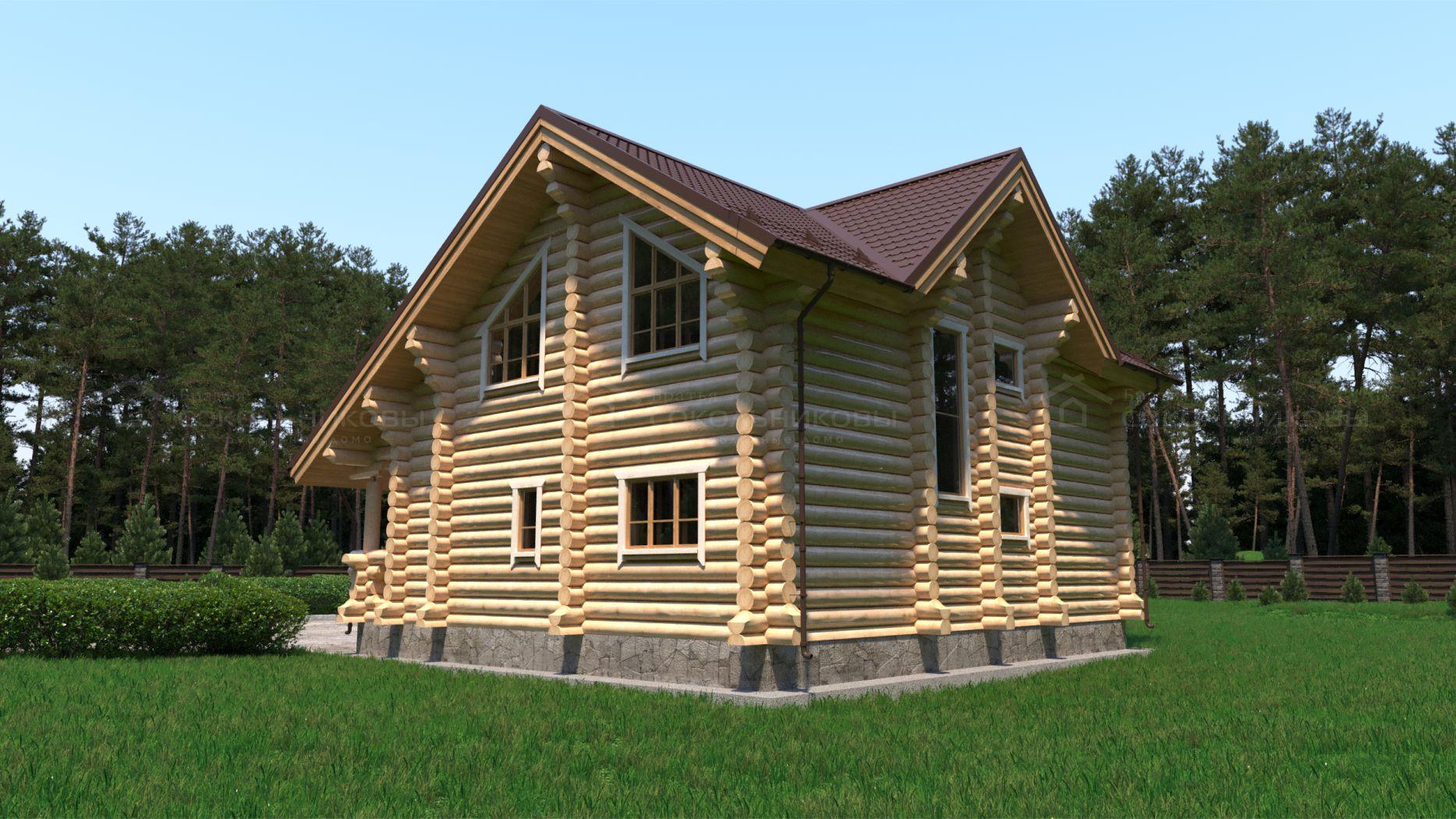 Дом под рубанок, 220 кв. м, фото 4